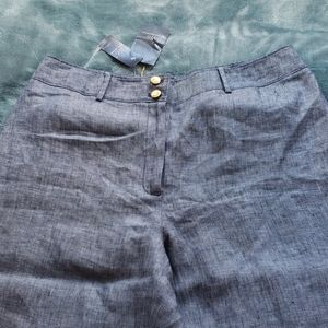 """Brooks Brothers """"346"""" Linen trousers"""